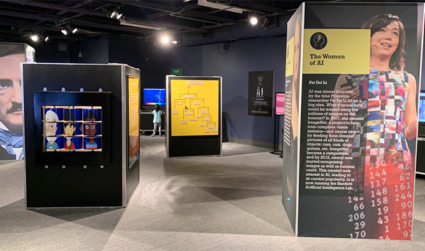 Artificial Intelligence Exhibit at Discovery Place Science