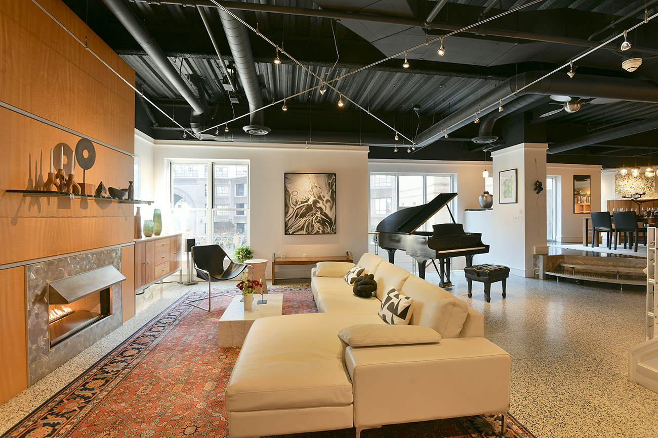 Cool condo: Modern artist's retreat in Uptown asks $949K