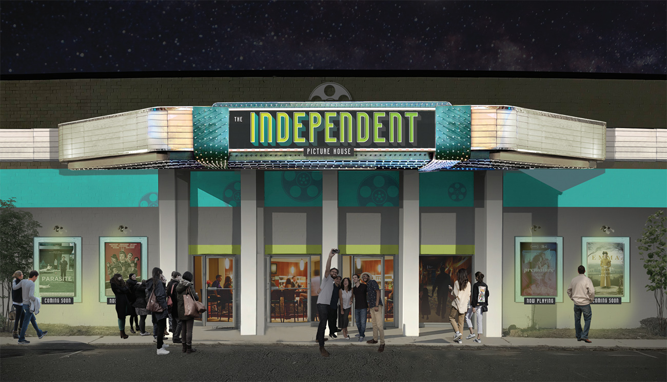 NoDa's new art house cinema has a name: The Independent Picture House