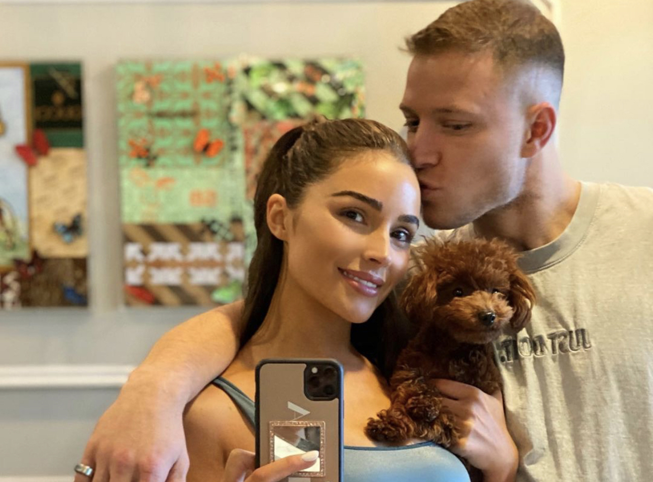 Model Olivia Culpo on life in Charlotte with Panthers' CMC