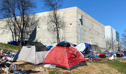 """Tent City"" residents receive hotel offer"