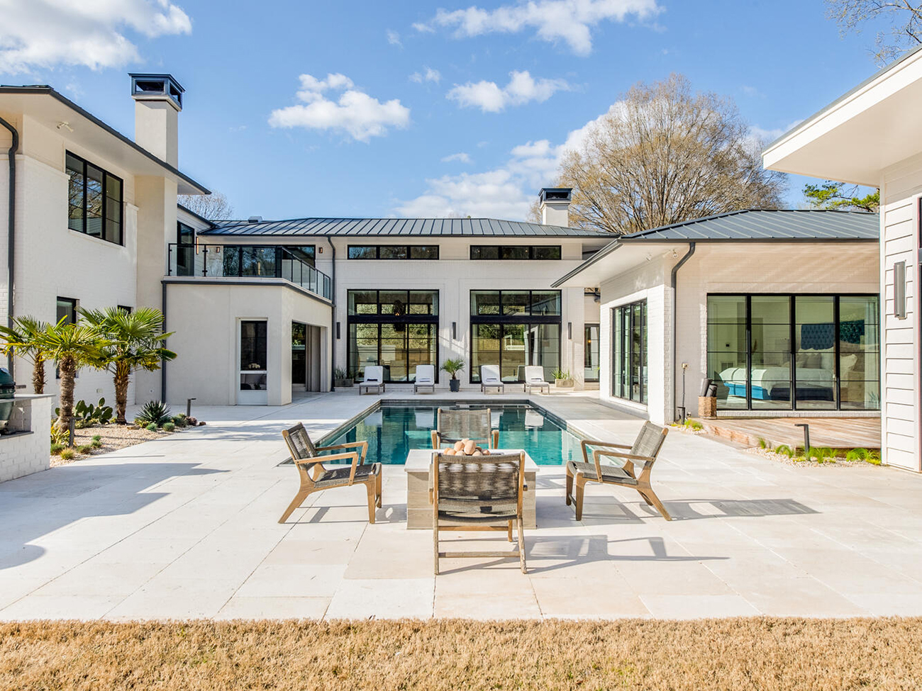 Natalie and Jonathan Stewart's south Charlotte home with indoor putt-putt asks $5.2M