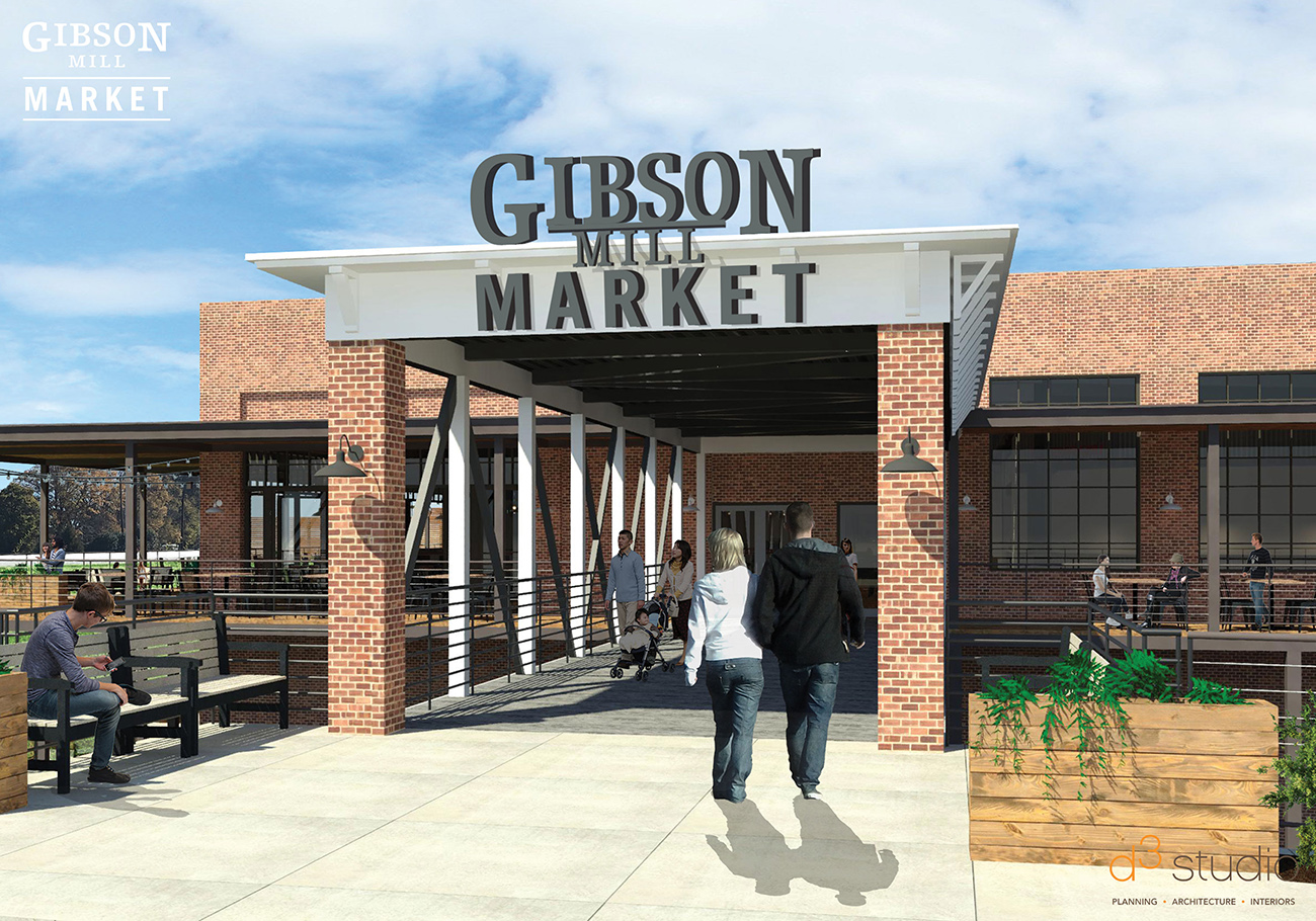 Concord's Gibson Mill Market targets fall opening. Here's everything we know