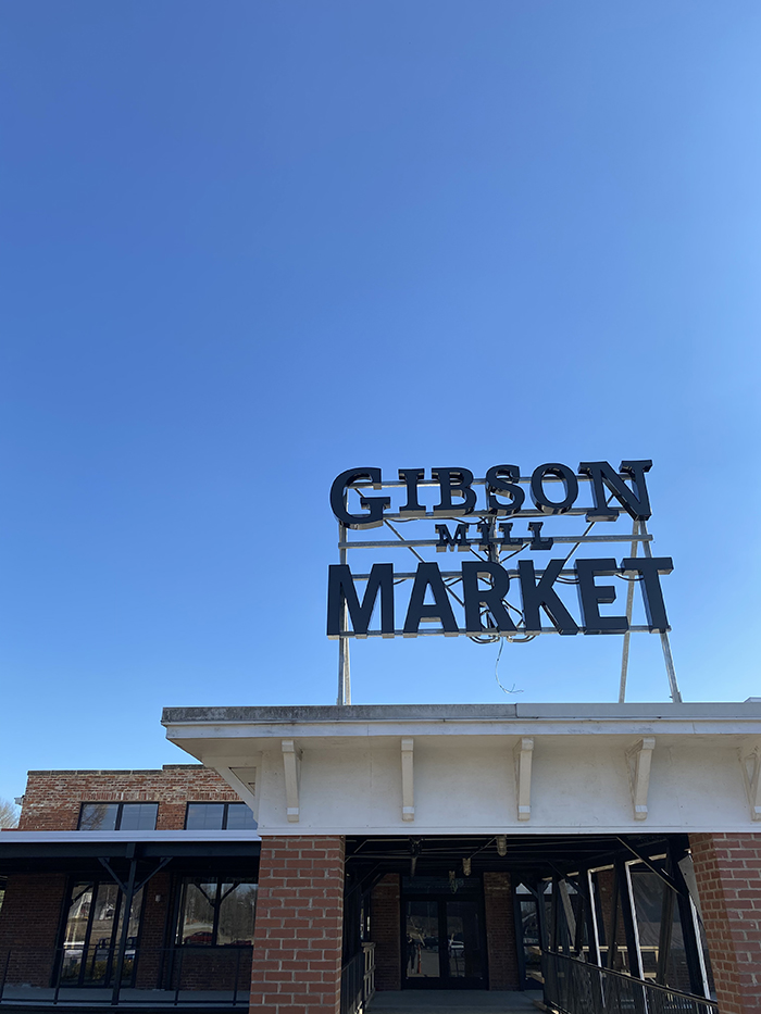 Gibson Mill Market rendering, Concord, Food hall