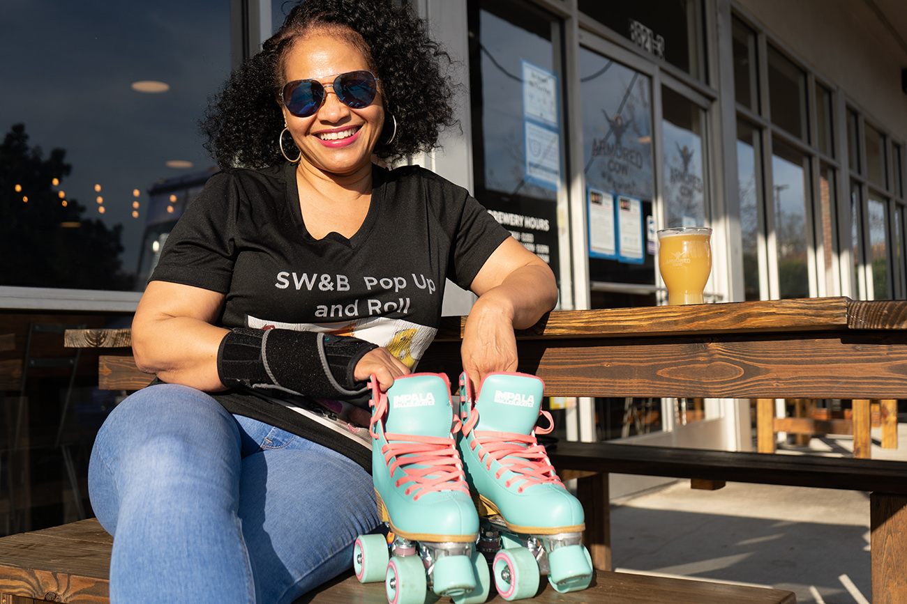 Pop-up roller skating rink to launch next month