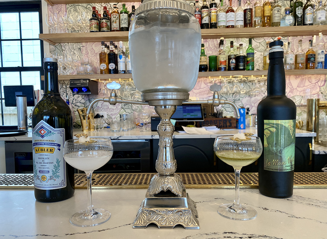 Southern steakhouse Supperland with Charlotte's first absinthe program is now open