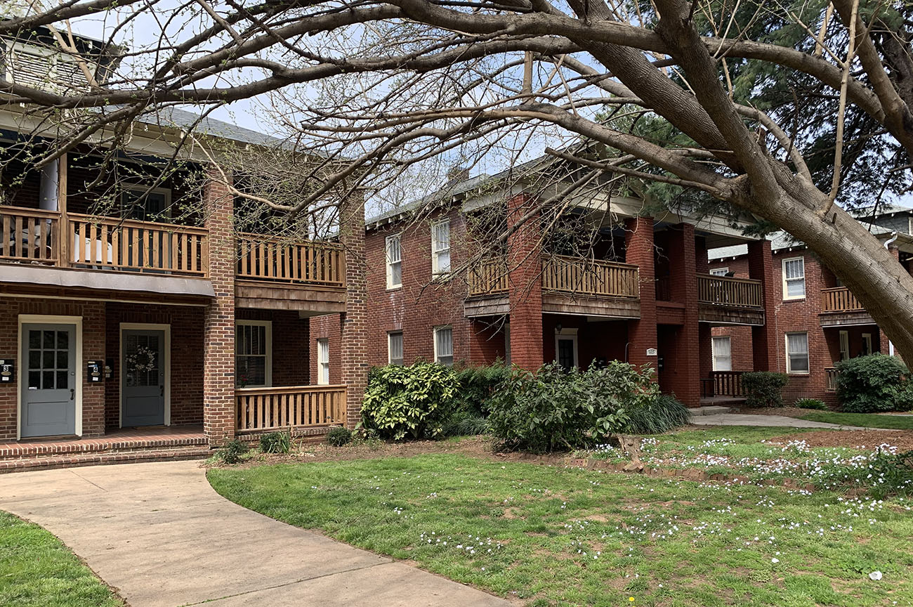My four years living in a Charlotte four-plex