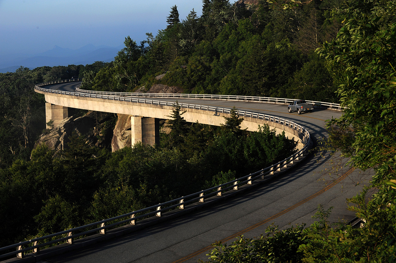 The Blue Ridge Parkway was the most popular national park of 2020