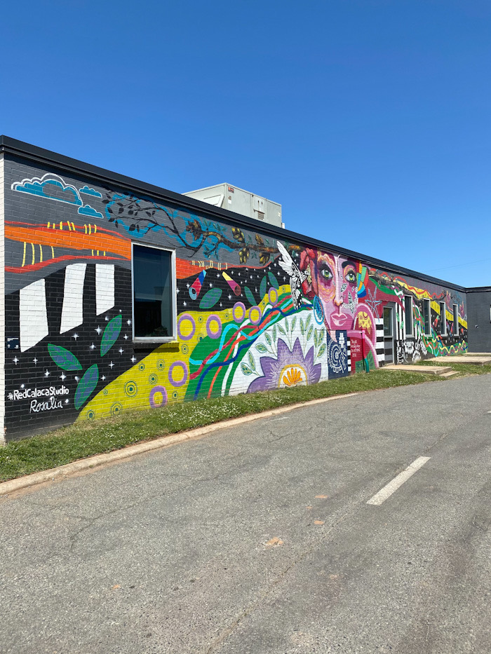 Camp North End Mural