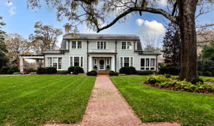 This stately Myers Park gem has its own spa, basketball court and jewelry closet