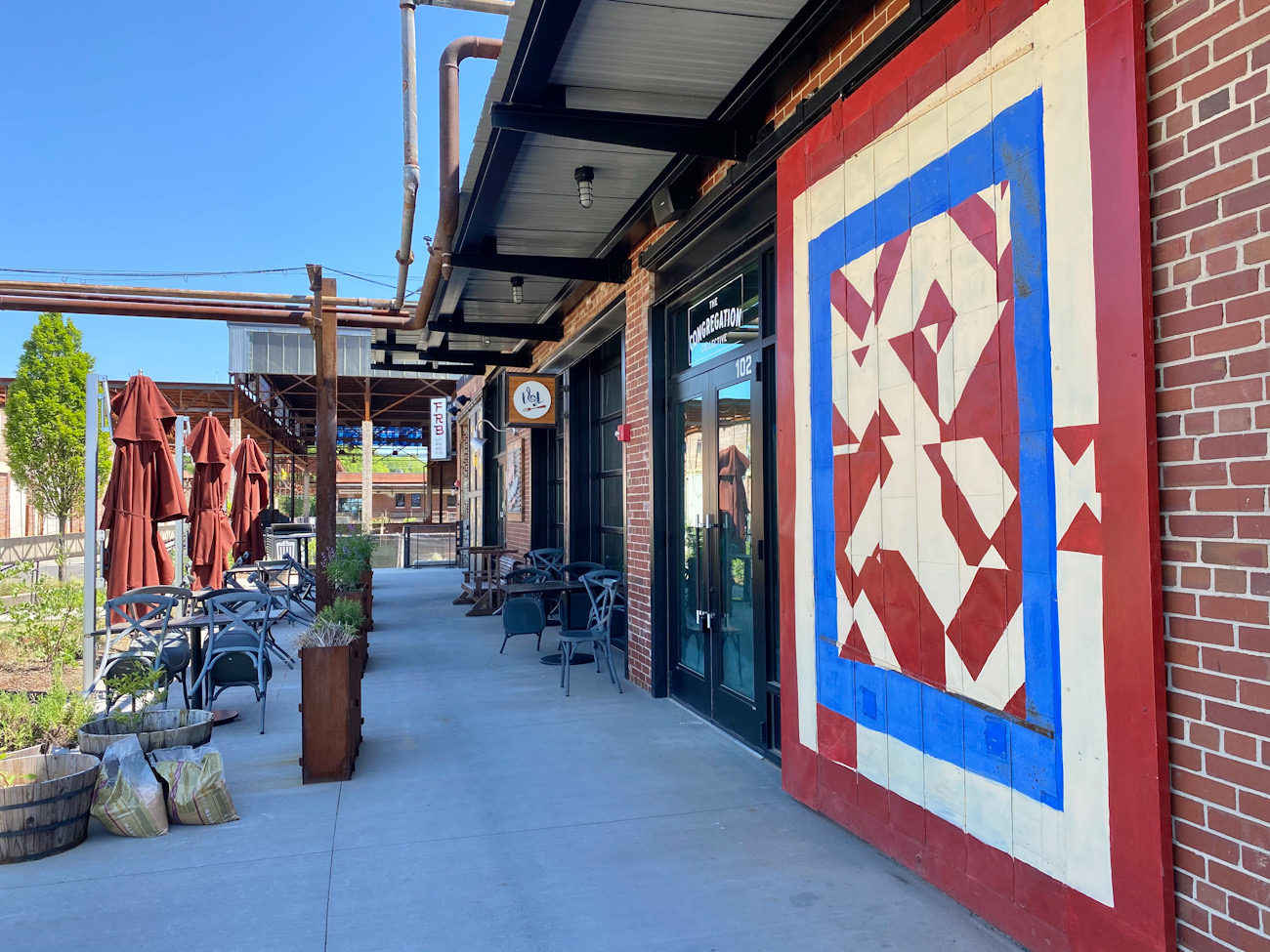 Your guide to 30+ murals in Camp North End