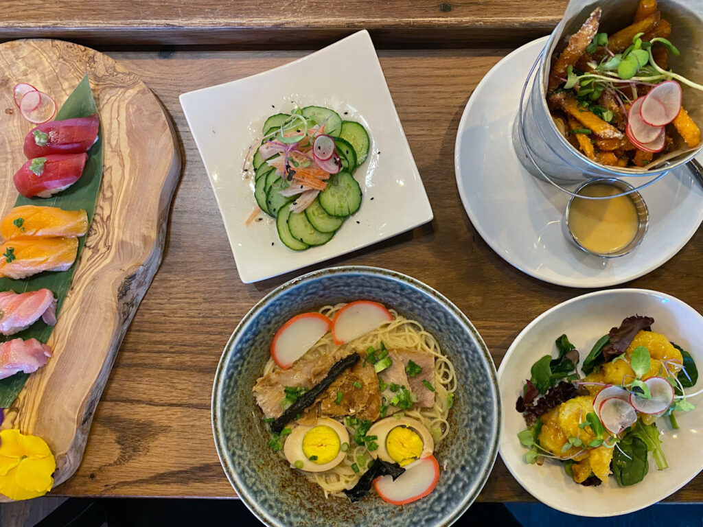 New Japanese restaurant called Konnichiwa is now open in Dilworth