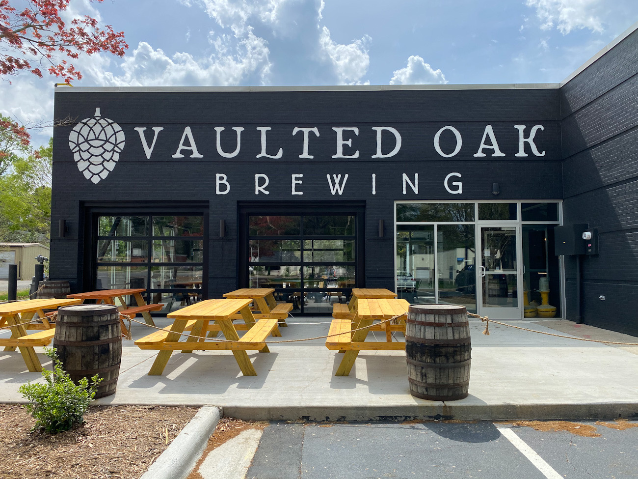 A new brewery is opening soon in an old bank on Monroe Road