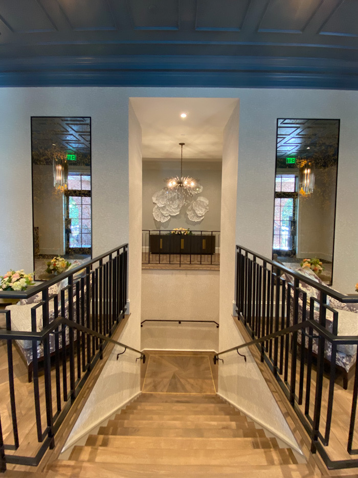 Carmel Country Club main clubhouse entry way