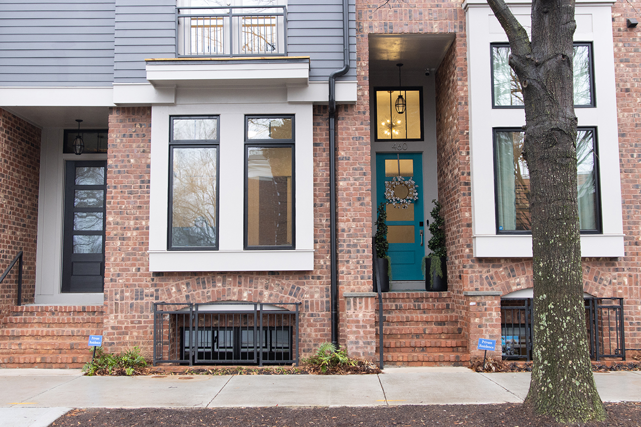 Home Tour: Charlotte newcomers show off their customized NoDa townhouse