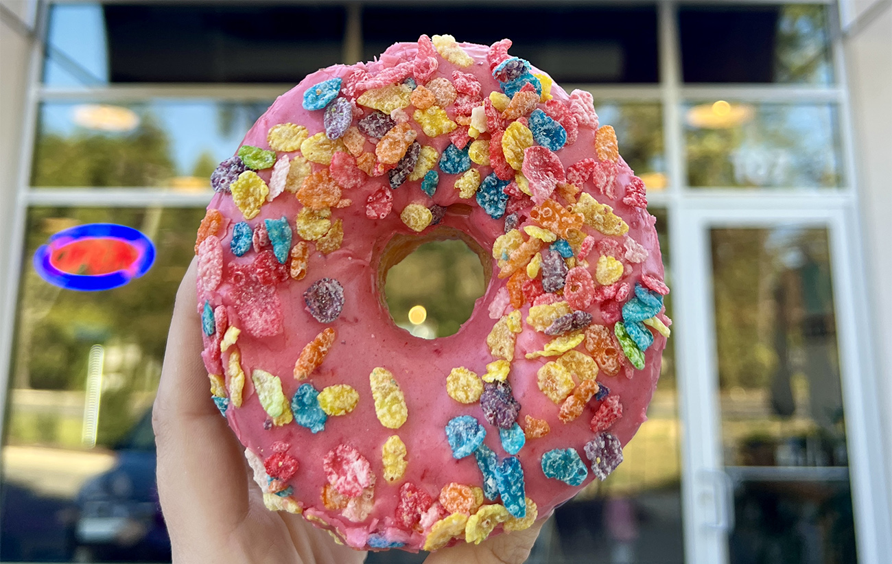 Local favorite OMG Donuts is now open on Monroe Road