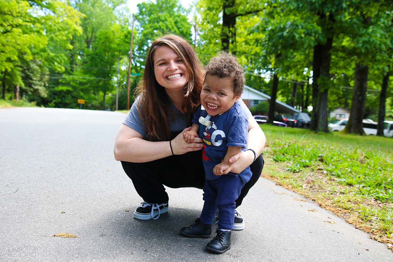 The woman behind the Panthers' social media, and her miracle child