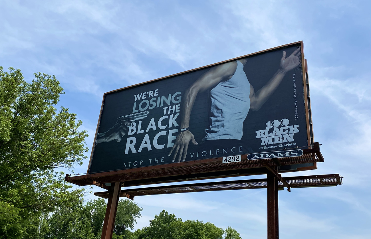 """Who's behind those """"Stop the Violence"""" billboards?"""