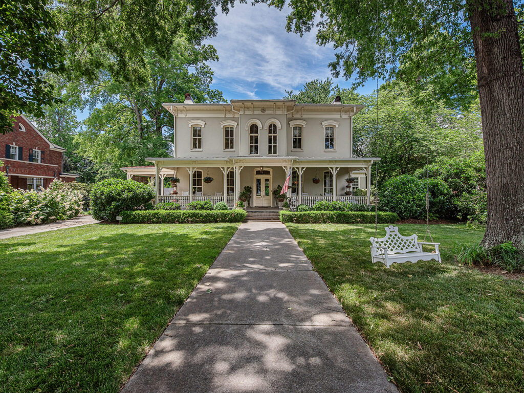Historic McManaway House in Myers Park asks $2.3M