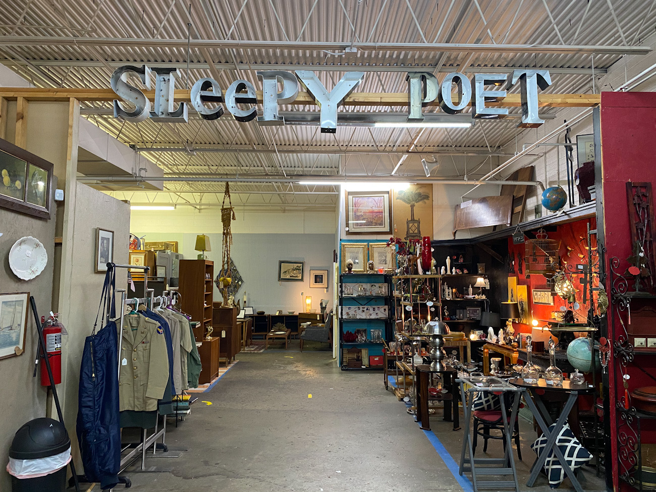 Beloved antiques destination Sleepy Poet moving to new location, investing $5M