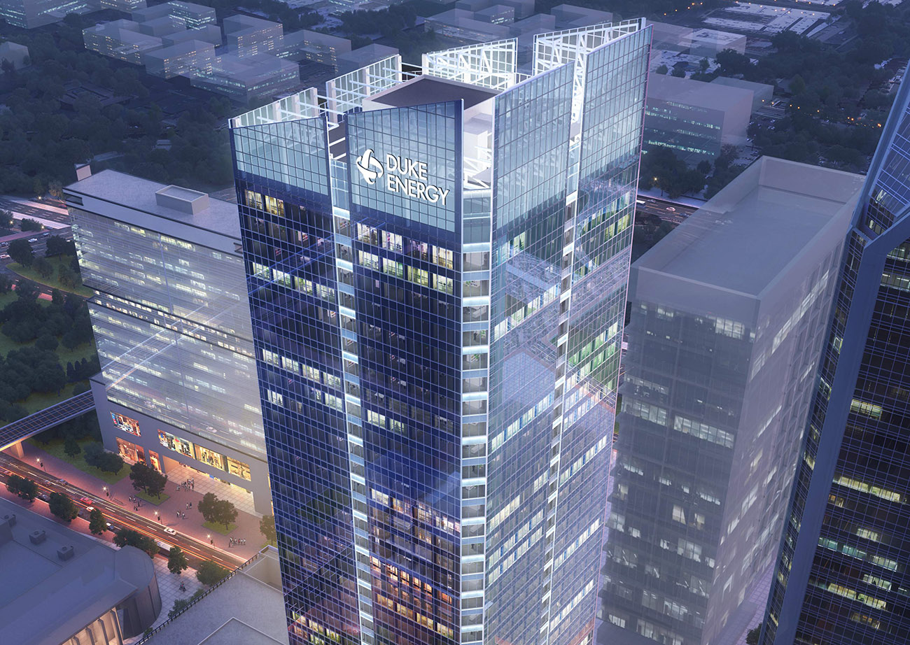 Duke Energy to trim office footprint and move HQ into new tower Uptown