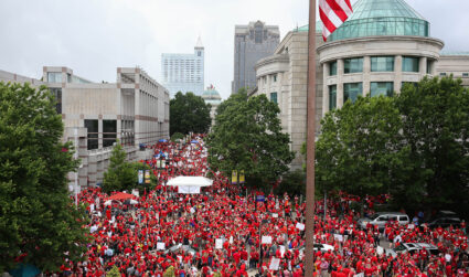 N.C. teachers caught in middle of political battle over lesson plans