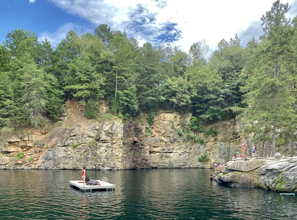 Guide to swimming at the Quarry at Carrigan Farms