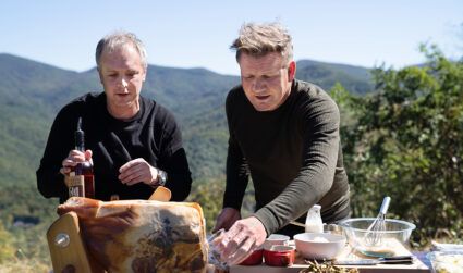 Charlotte chef guides Gordon Ramsay through Smoky Mountains on NatGeo show