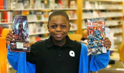 Take the Summer Break challenge with Charlotte Mecklenburg Library