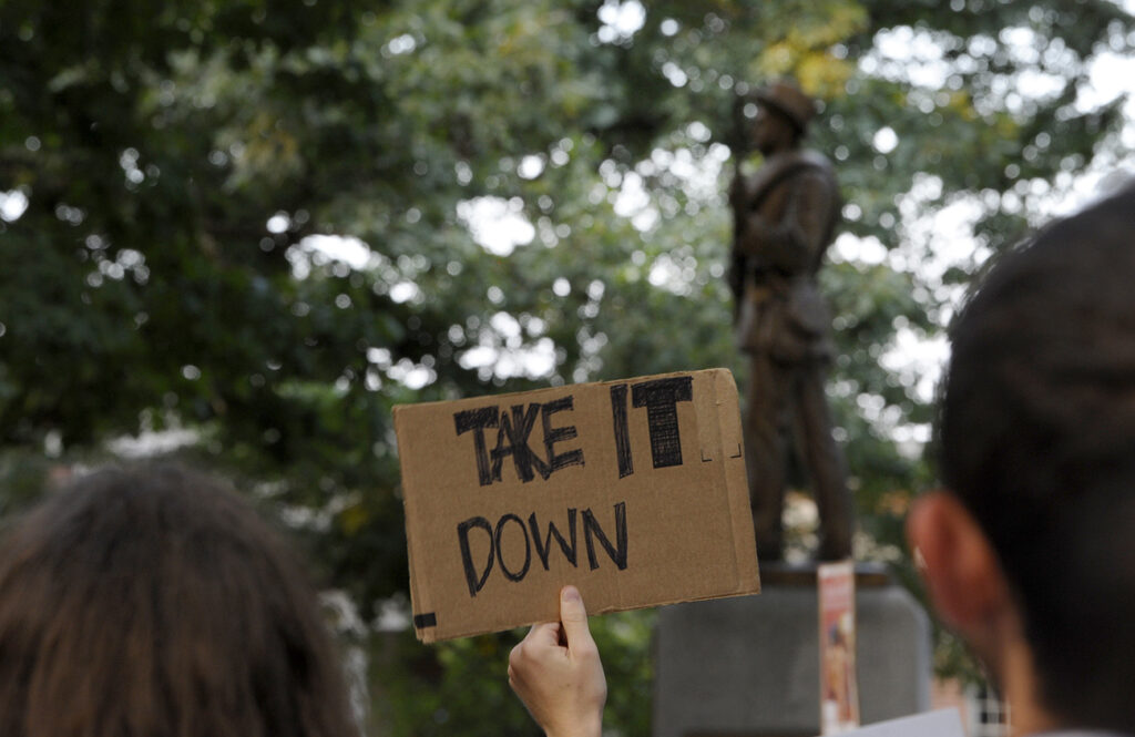 Interactive map: Rise and fall of N.C.'s Confederate monuments