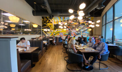 Upscale pizza restaurant with a rotating oven opens in SouthPark