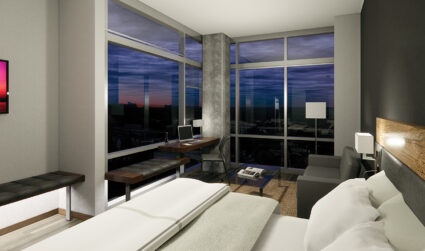 AC Hotel with Uptown views to open in Ballantyne this fall