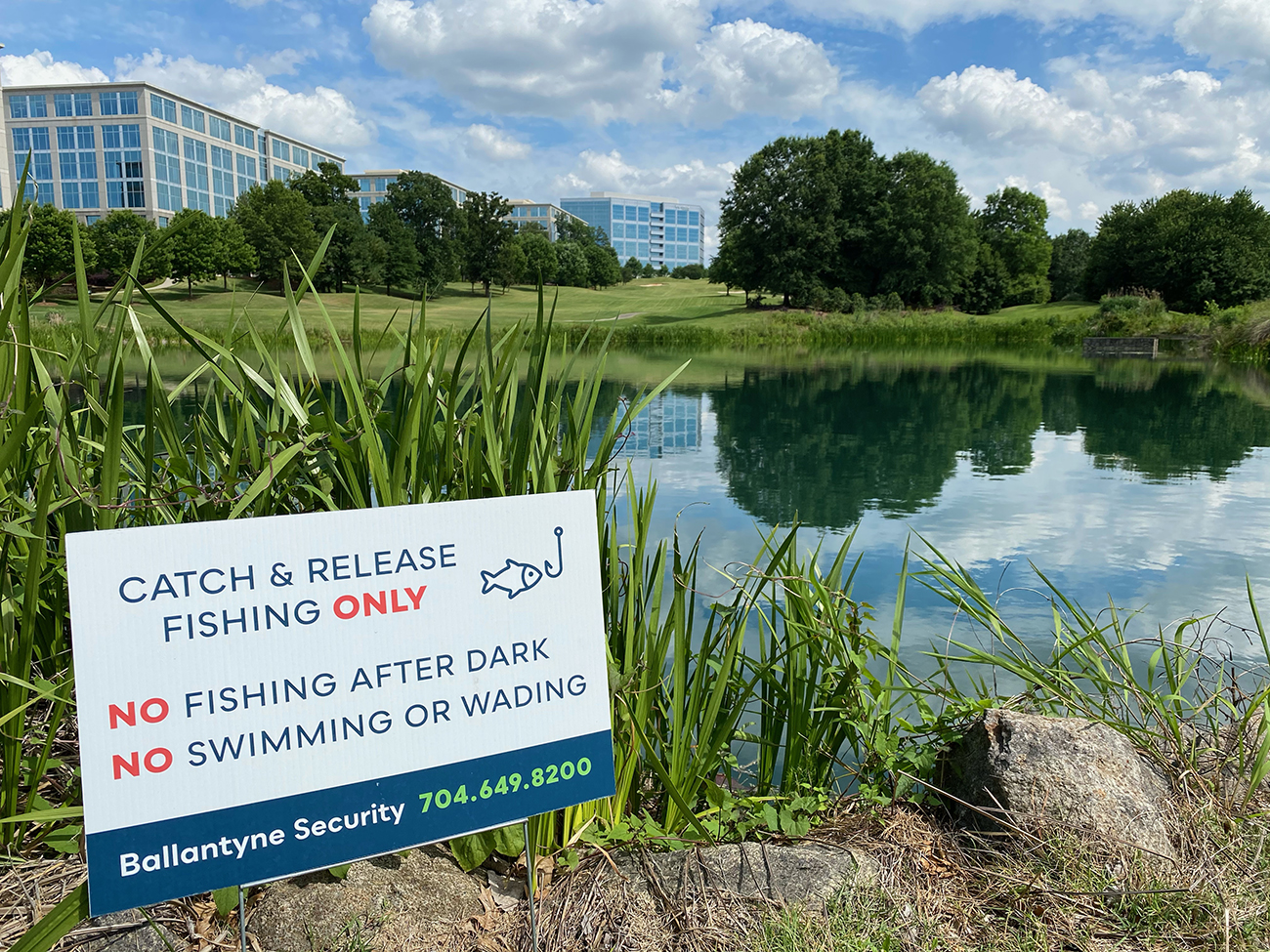 Ballantyne opens 100-acre community park on an old golf course