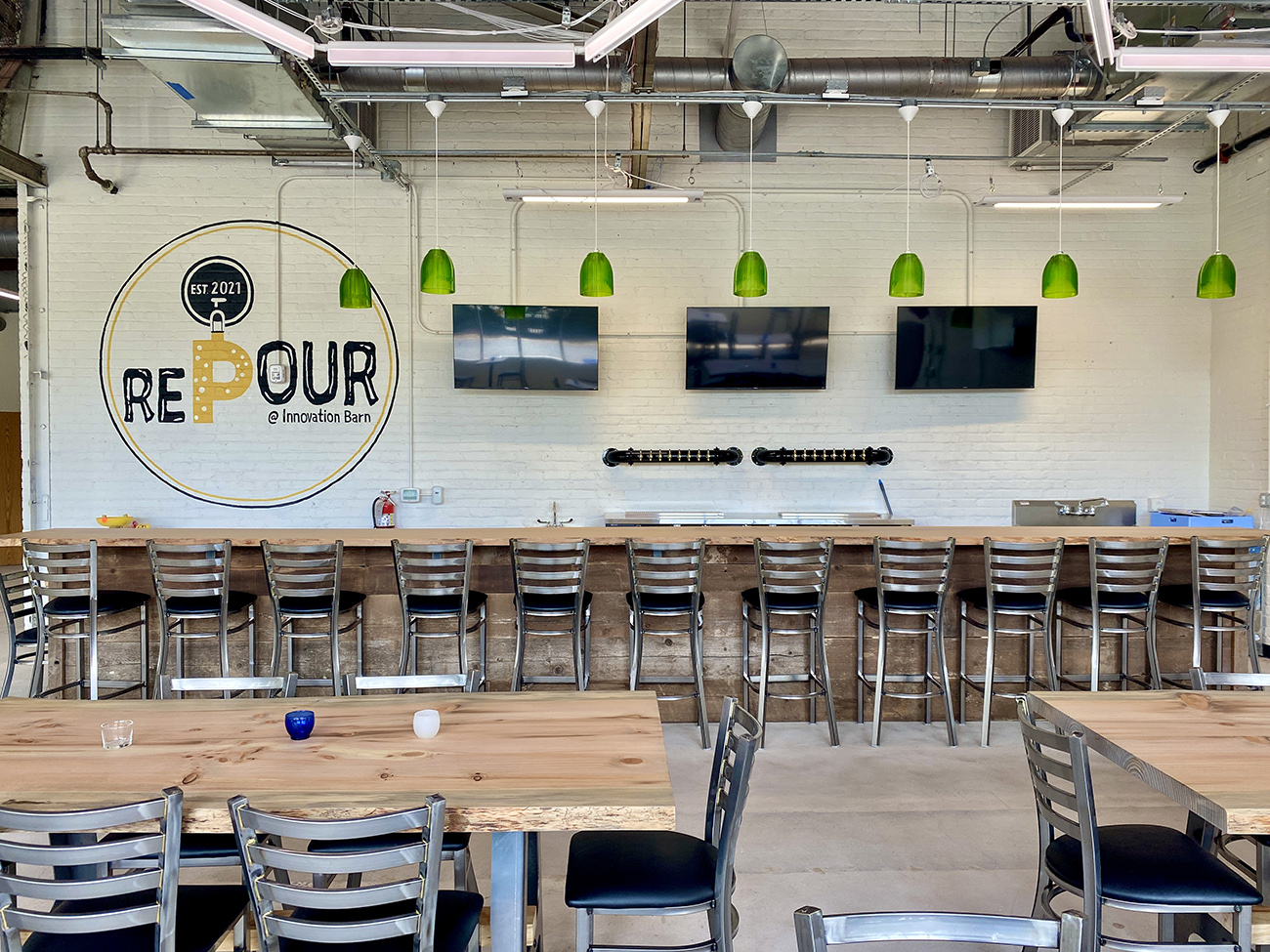 Charlotte's Innovation Barn to open in July with sustainable craft beer bar