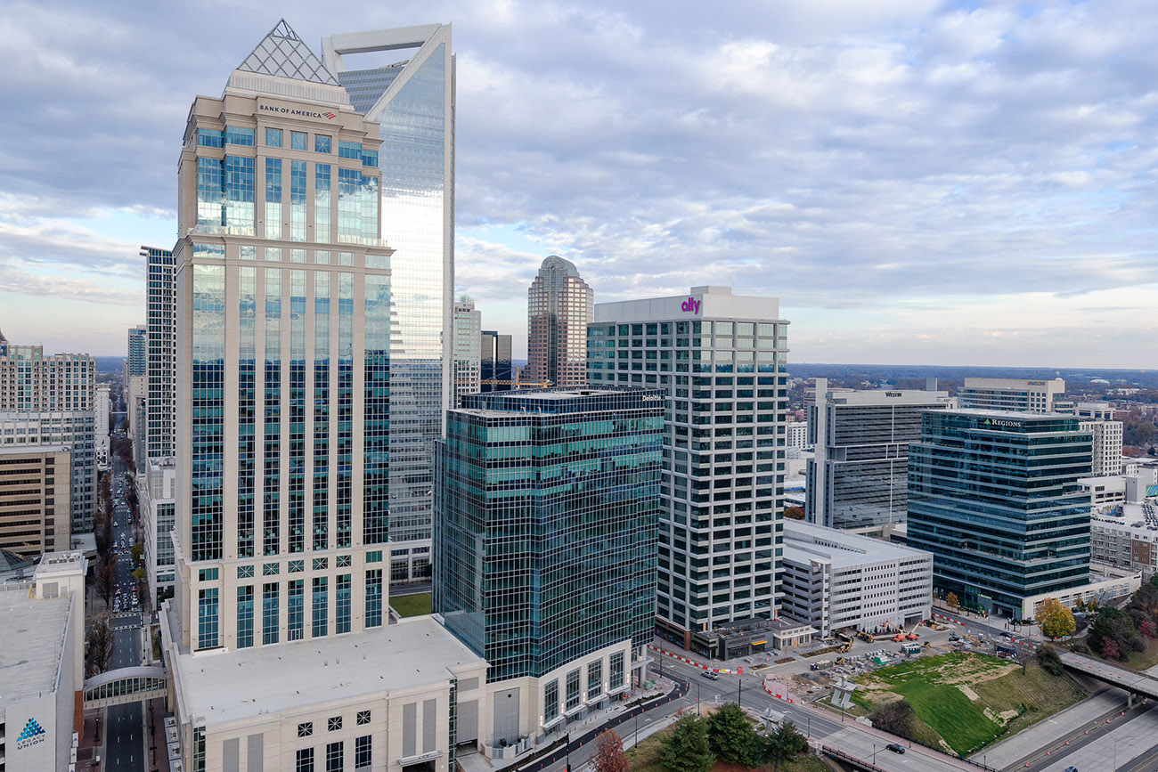 The parental leave policies at Charlotte's biggest employers