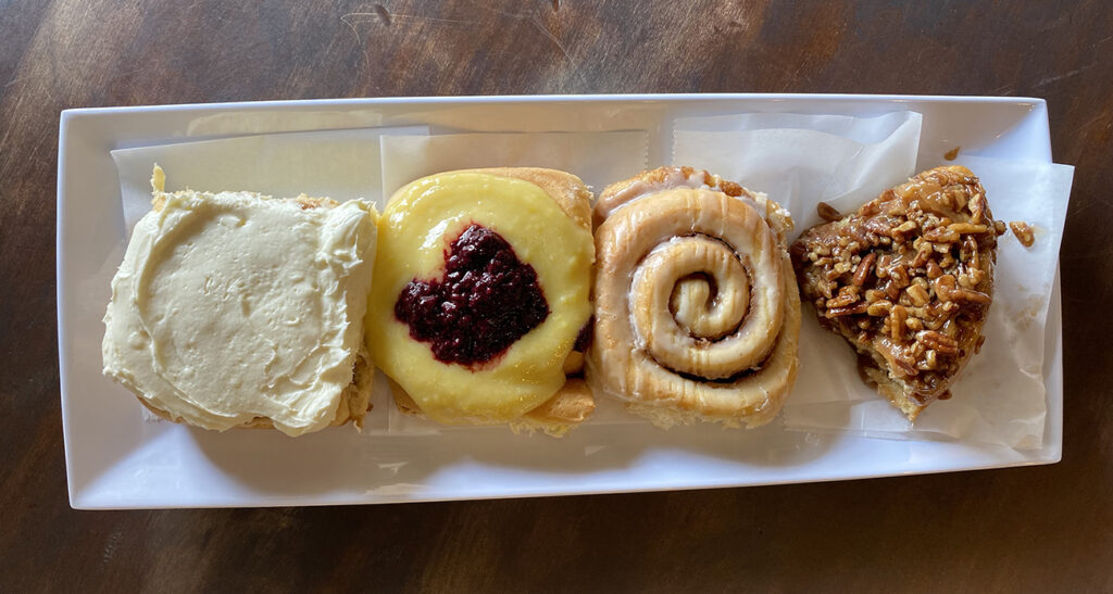 Cinnamon bun bakery brings scratch-made operation to the West End