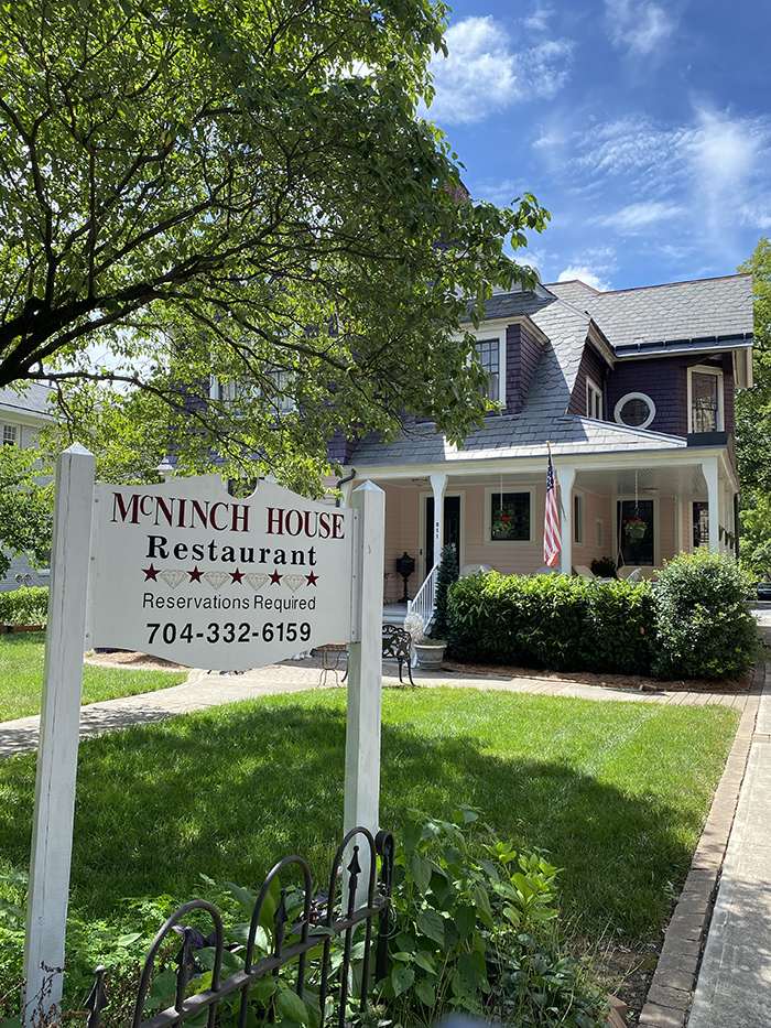 McNinch House, long-standing Charlotte restaurant, mayor mcninch