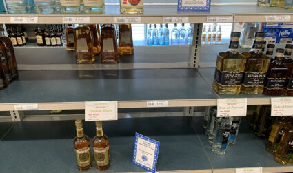 Charlotte liquor stores are selling out of Tito's and tequila