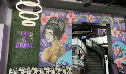 Uptown tattoo parlor doubles as a restaurant and nightclub