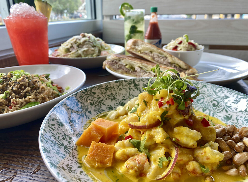 Latin café and cevicheria Calle Sol now open all day on weekends