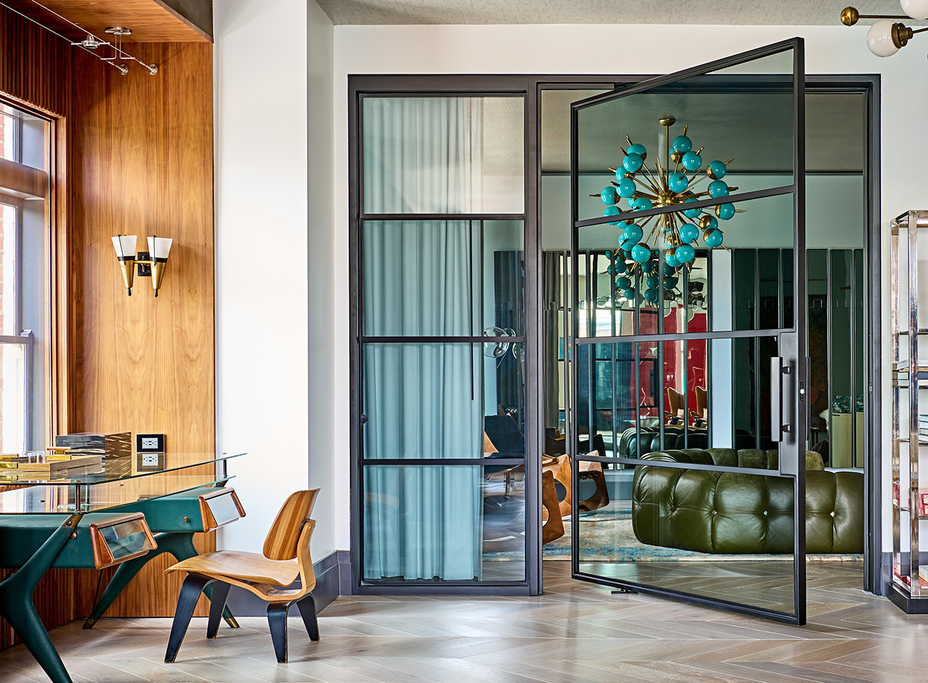 Before and after: Colorless condo transformed into Fourth Ward's chicest retreat
