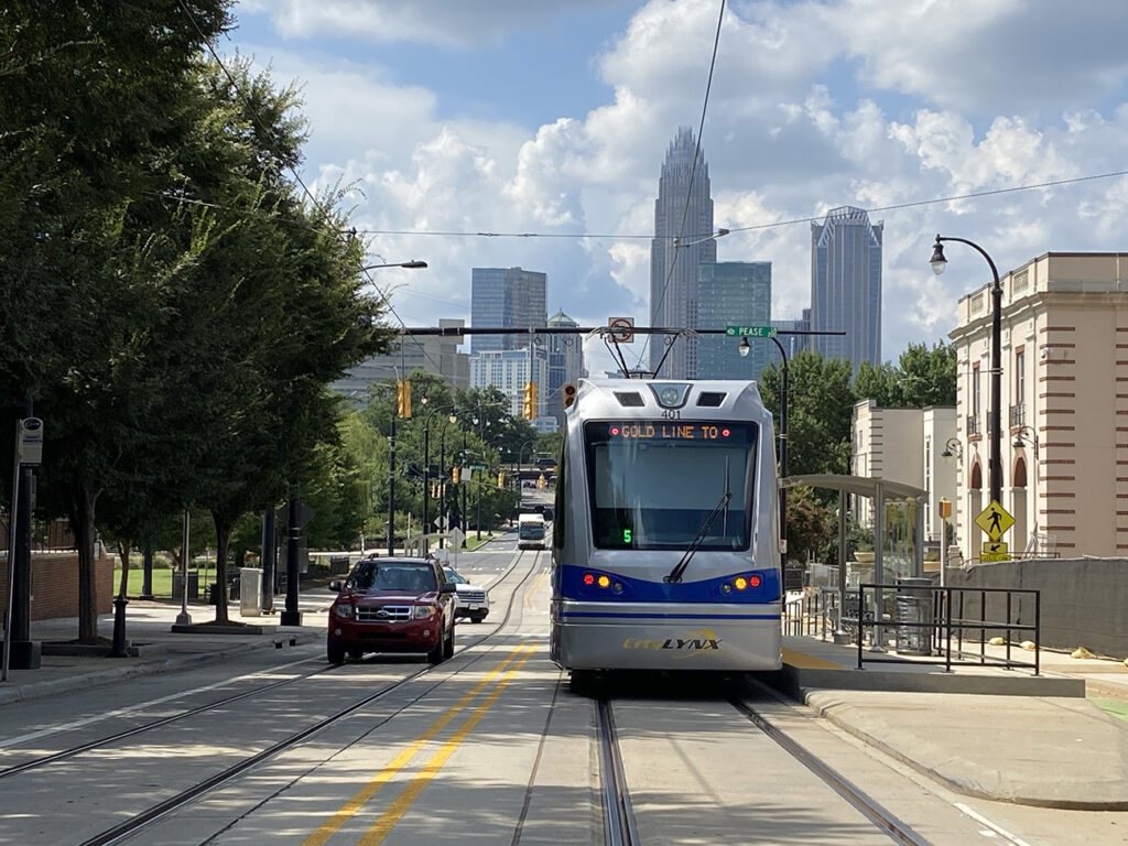 The long-awaited Gold Line streetcar is here