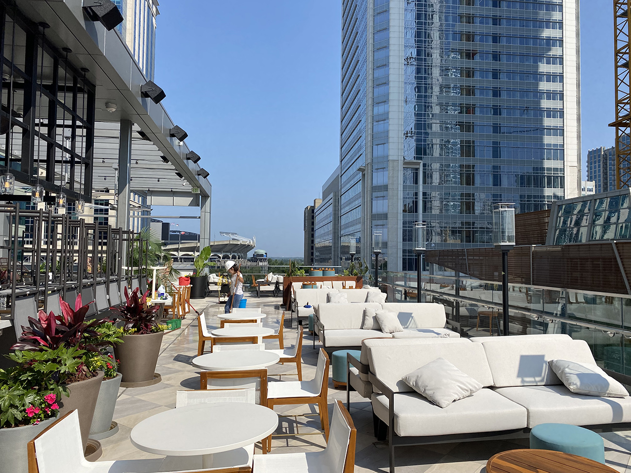 A first look inside the new JW Marriott uptown