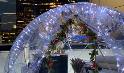 """Charlotte startup Popup Datez is using temperature-controlled tents to become """"the Uber of dates"""""""