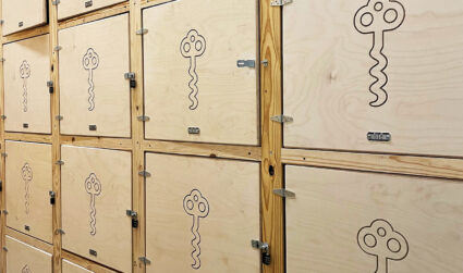 Cork Vault now has about 100,000 wine bottles inside its discreet facility