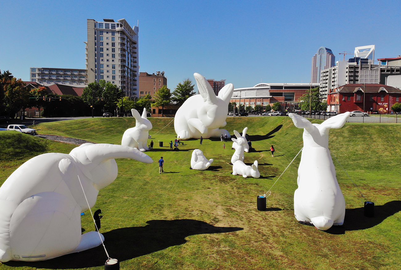 3 must-see public art installations in Charlotte this fall