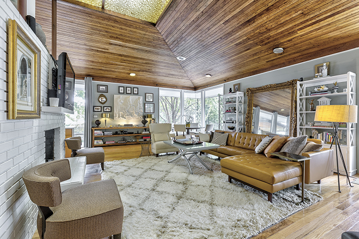 mid century modern home visit to wylie lake show