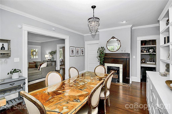1609 Belvedere Ave dining