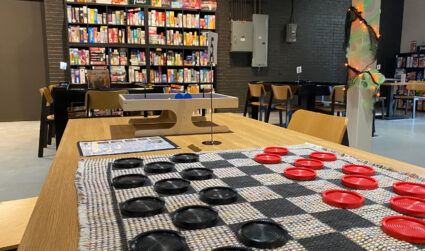 Board game cafe opens in Gibson Mill Market