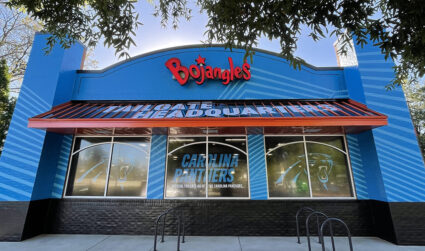 The Midtown Bojangles has a new look and it's officially #TailgateHQ